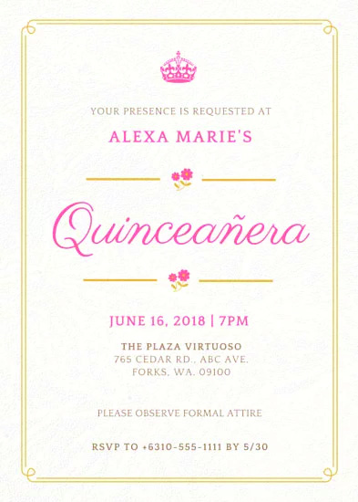 QuinceInvitaion11